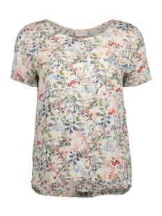 Vila T-shirt VISEAFA S/S TOP GV 14040263 Pristine/Viseafa Pr