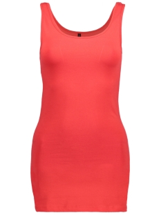 Only Top onlLIVE LOVE LONG TANK TOP NOOS 15060061 High Risk Red