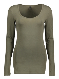 Only T-shirt LIVE LOVE LONG O-NECK LS TOP NOOS 15060054 Kalamata