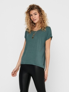 Only T-shirt ONLMOSTER S/S O-NECK TOP NOOS JRS 15106662 Balsam Green