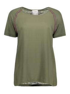 Vero Moda T-shirt VMTAPER S/S MIDI TOP DNM A 10175609 Ivy Green