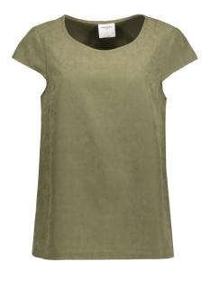 Vero Moda T-shirt VMTENSA S/S MIDI TOP DNM A 10174697 Ivy Green