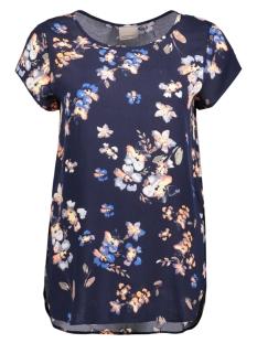 Vero Moda T-shirt VMBOCA SS BLOUSE MULTI PRINTED 10132802 Navy Blazer/ Lina Print