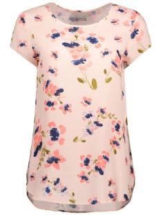 Vero Moda T-shirt VMBOCA SS BLOUSE MULTI PRINTED 10132802 Peach Whip/ Lina Print