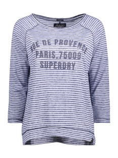 Superdry T-shirt G60001EO HARBOUR ZDR MIXED NAVY