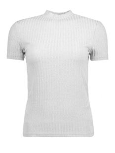 Jacqueline de Yong T-shirt JDYMEI S/S RIB TOP JRS 15133508 Pearl Blue