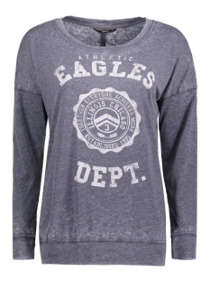 Only T-shirt onlEAGLE L/S TOP ESS 15136414 Night Sky