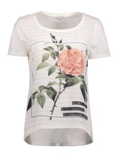onlRHINA S/S ROSE/CITY TOP BOX ESS 15133534 Cloud Dancer/Rose