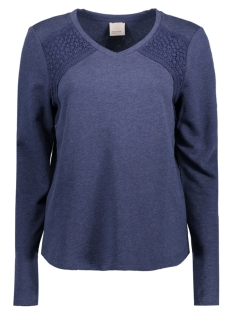 Vero Moda Sweater VMTIKKA LS SWEAT JRS A 10175016 Navy Blazer