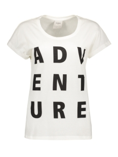 Vero Moda T-shirt VMBELLA ADVENTURE SS TOP BOX DNM 10174529 Snow White/ Adventure