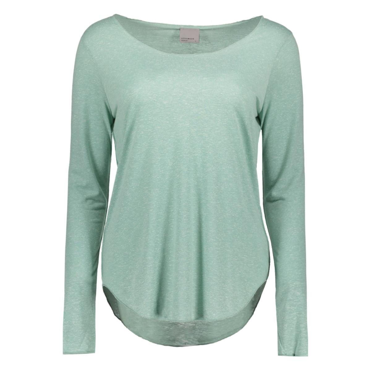 vmlua ls top noos 10158658 vero moda t-shirt blue surf