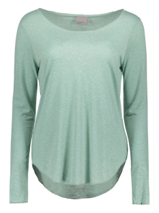 Vero Moda T-shirt VMLUA LS TOP NOOS 10158658 Blue Surf