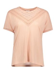 Jacqueline de Yong T-shirt JDYCARLY S/S LACE TOP JRS AKR 15130013 Cameo Rose/ DTM Lace