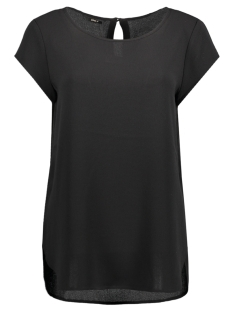 Only T-shirt onlNOVA SOLID LUX S/S TOP WVN 15134157 Black