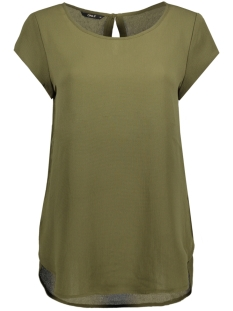 Only T-shirt onlNOVA SOLID LUX S/S TOP WVN 15134157 Kalamata