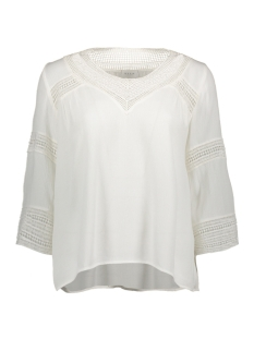 Vila T-shirt VICARRIE 3/4 SLEEVE TOP GV 14041168 Cloud Dancer