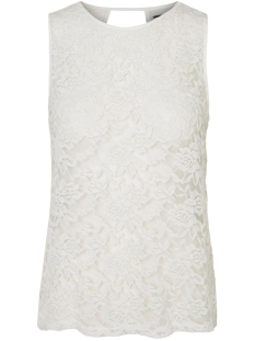 Noisy may Top NMMIRA S/L LACE TOP 2 10174272 Bright White