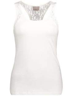 Vero Moda Top VMMAXI MY SOFT LACE BOXER TOP NOOS 10170567 Snow White