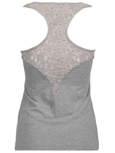 vero moda top medium grey melange