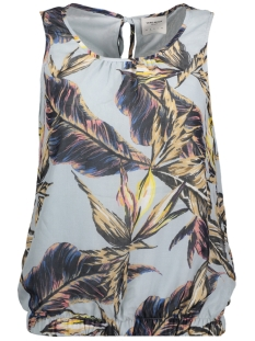 Vero Moda Top VMPALM S/L MIDI TOP DNM 10177285 Plein Air/Palm Big