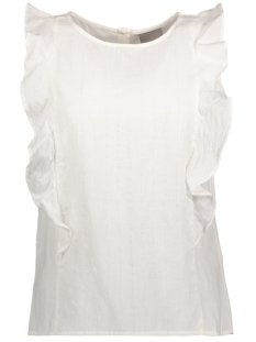 Vero Moda Top VMDEBBI LUREX S/L MIDI TOP V 10177135 Snow White/With Lurex