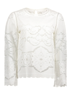 Vila T-shirt VIBELLINA L/S TOP/DC 14039923 Cloud Dancer