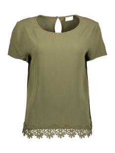 Vila T-shirt VIISADORA S/S TOP 14041395 Ivy Green
