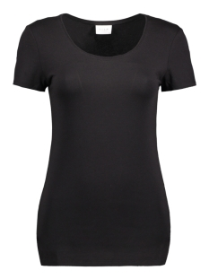 Vila T-shirt VIOFFICIEL S/S NEW TOP-NOOS 14040376 Black