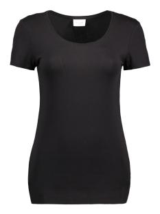 Vila T-shirt VIOFFICIEL S/S NEW TOP-NOOS 14040376 Black