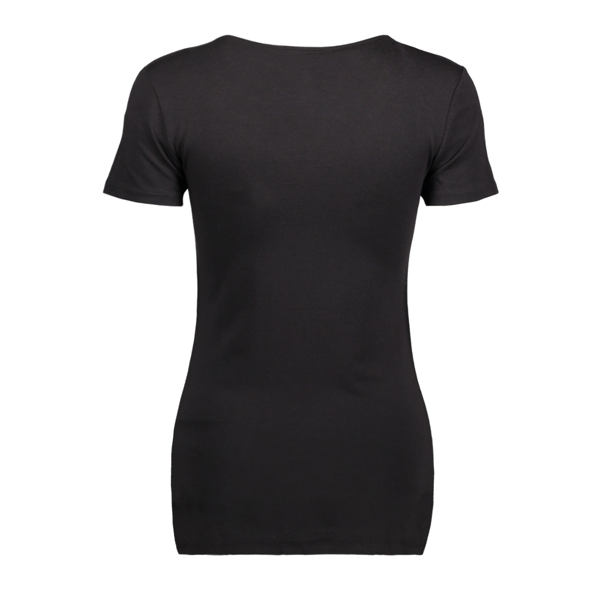viofficiel s/s new top-noos 14040376 vila t-shirt black