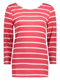 Object T-shirt OBJELONA WRAP 3/4 TOP NOOS 23023663 Bittersweet/BITTERSWEET