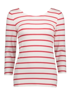Object T-shirt OBJELONA WRAP 3/4 TOP NOOS 23023663 White/White W BI