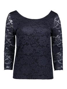 Vila T-shirt VIFILIA 3/4 SLEEVE TOP 14040184 Total Eclipse