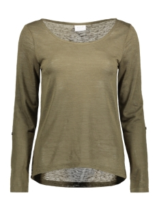 Vila T-shirt VISUMI L/S TOP GV 14040676 Ivy Green