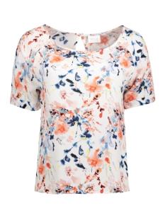 Vila T-shirt VIMARIAN S/S TOP GV 14040228 Persimmon/ ViMarian P