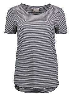 Vero Moda T-shirt VMADDISON SS TOP DNM JRS A 10177003 Snow White/Navy Blazer