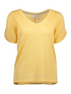 VILAURAN S/S T-SHIRT 14041367 Lemon Zest