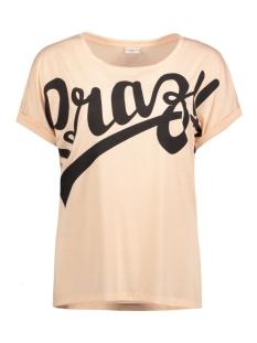 Jacqueline de Yong T-shirt JDYREBEL S/S PRINT TOP JRS 15131723 Cameo Rose/Crazy