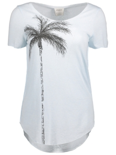 Vero Moda T-shirt VMLUA SIMPLY SS TOP BOX DNM JRS 10176810 Plain Air/Palm