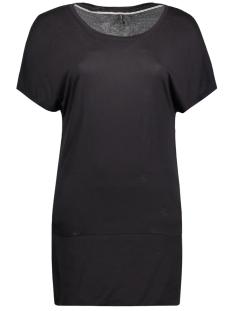 Only T-shirt onlJANA S/S LONG TOP ESS RP2 CS 15135913 Black