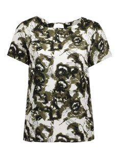 OBJLOTTE S/S TOP AOP 91 23024924 Ivy Green