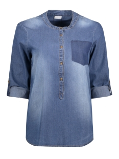 Jacqueline de Yong Blouse JDYLEGEND 3/4 POCKET BLOUSE WVN 15129473 Medium Blue Denim
