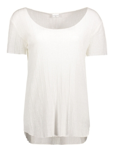 Jacqueline de Yong T-shirt JDYTRADE S/S TOP JRS 15132000 Cloud Dancer