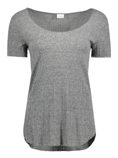 Jacqueline de Yong T-shirt JDYTRADE S/S TOP JRS 15132000 Light Grey Melange