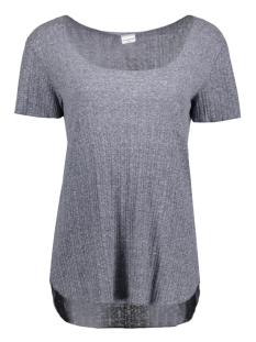 Jacqueline de Yong T-shirt JDYTRADE S/S TOP JRS 15132000 Mood Indigo