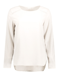Jacqueline de Yong Blouse JDYHARPER L/S TOP WVN 15129149 Cloud Dancer