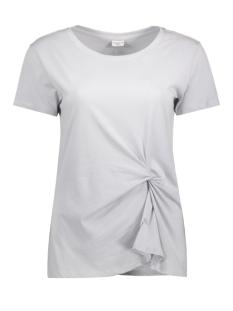 Jacqueline de Yong T-shirt JDYRONDA S/S KNOT TOP JRS 15129410 Pearl Blue