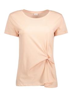 Jacqueline de Yong T-shirt JDYRONDA S/S KNOT TOP JRS 15129410 Cameo Rose