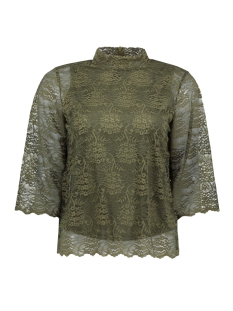 Object Blouse OBJLACEY 3/4 TOP A 23024545 Ivy Green