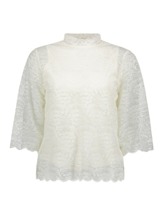 Object Blouse OBJLACEY 3/4 TOP A 23024545 Gardenia